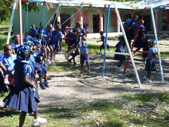 Rural Haiti School built by ODRINO